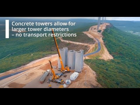 The Nordex Group Concrete Towers